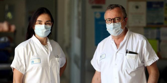 Dr Sylvie Leroy et Pr Charles Hugo Marquette