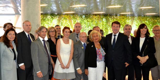 Remise du prix de la Fondation Claude Pompidou à l'ICP
